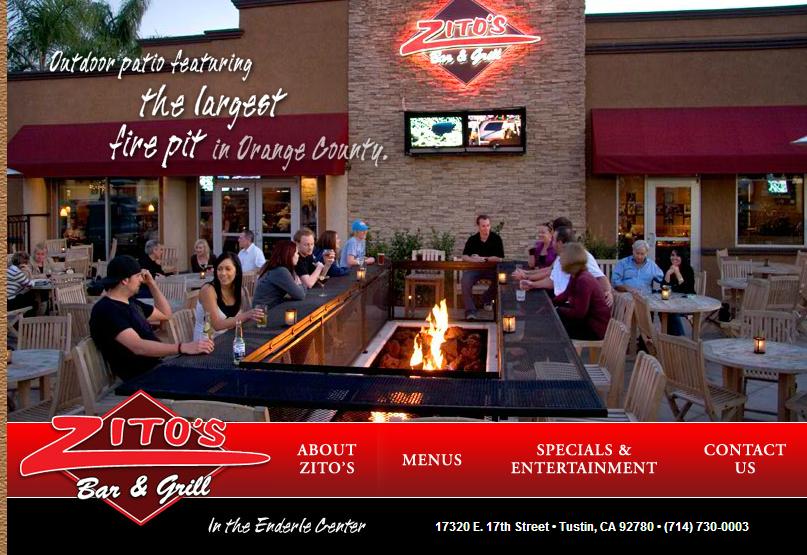 Crossroads Zito's Bar & Grill Tustin California Dec 5, 2014